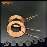 銅の空気コア電磁石のコイル