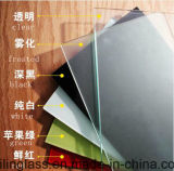 유리제 색깔에 의하여 인쇄되는 Tempered 선반