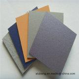 El panel compuesto de aluminio aplicado con brocha (ALB-029)
