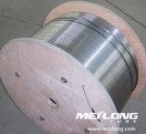 Aislante de tubo químico capilar de la inyección del martillo a dos caras del acero inoxidable S31803