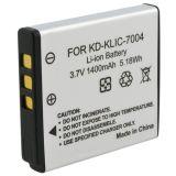 Nuova batteria dello Litio-Ione del rimontaggio della macchina fotografica di capacità elevata Klic-7004 Digitahi per Kodak Klic-7004, FUJI Np-50, Pentax D-Li68