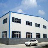 Baixo custo e oficina/armazém pré-fabricados de montagem rápidos da construção de aço