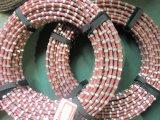 Utilisation multi de fil de diamant pour couper de brames de granit