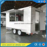 Chariot mobile de nourriture avec des certificats de la CE