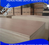 Madera contrachapada de Bintangor Okoume de la alta calidad de la oferta, madera contrachapada comercial para los muebles