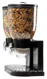 こぼれの皿で構築されるを用いる新しい乾燥した食糧ディスペンサー