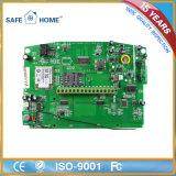 Sistema di allarme intelligente di GSM della casa sicura della rete