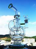 Do Percolator reto da câmara de ar da alta qualidade tubulação de água de vidro
