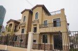 Railing балкона квартиры ретро типа алюминиевый