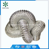 Conduit souple extensible et durable en aluminium pour la ventilation par sécheuse