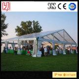 tente transparente de noce de tentes d'événement extérieur d'usager de 10X25m avec le vent résistant
