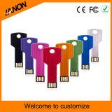 Schlüssel-USB-Flash-Speicher-Mischfarben USB-Stock mit Ihrem Firmenzeichen
