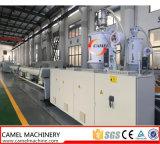 Cadena de producción del tubo del abastecimiento de agua del gas del PE máquina del plástico