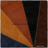 Jacaré de imitação couro amplamente utilizado gravado do plutônio (S273120)
