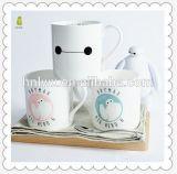 Taza de café de cerámica al por mayor del zodiaco de las tazas 11oz