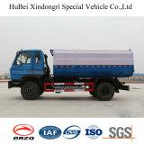 евро 10ton Dongfeng 4 автоматизированная бочонками бортовая тележка Compactor отброса нагрузки