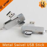 Heißes kundenspezifisches Firmenzeichen-Schwenker-Metall-USB-Feder-Laufwerk (YT-1208)