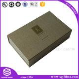 Rectángulo de papel de empaquetado de encargo de lujo del cosmético del regalo de Debossing