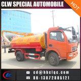 4X2 5m3 6m3 Vakuumabwasser-Absaugung-LKW-septisches Fahrzeug