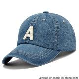 Broderie Cap Sports promotionnels broderie Burshed coton Denim Cap