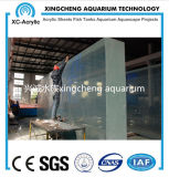 Het aangepaste Transparante AcrylProject van het Aquarium van het Blad
