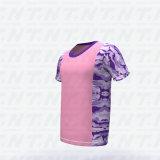 Helemaal over Mensen van de T-shirt van het Pit van de Hals van de Bemanning van de Mensen van de T-shirt van Af:drukken de In het groot