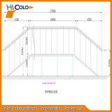 Forno a tunnel continuo infrarosso Cl-2712 per polvere Coating Forno De Cura Po