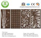 Piatto d'acciaio di Corten per la decorazione del comitato di parete