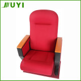 Jy-605m Chaises de cinéma en bois bon marché Chaise d'église Chaise d'auditorium