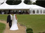 Grande barraca de alumínio decorada clássica do casamento para a barraca do dossel de mais de 500 povos