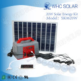 Energie - Uitrustingen van de Verlichting van de Zonne-energie van de besparing 20W de Draagbare