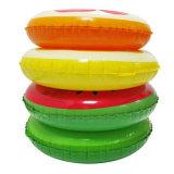 Frucht-Gestaltungsarbeit Belüftung-oder TPU aufblasbarer Zitrone-Schwimmen-Ring