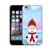 o boneco de neve do Natal do iPhone 6s projeta a tampa dura da caixa plástica do PC