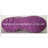 Neuester Ineinander greifen-Gewebe-Turnschuh der Dame-Shoe für Frauen