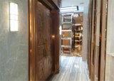 Lojas de móveis decorativas de China da guarnição do aço inoxidável do espelho do ouro em linha