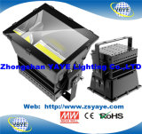 Yaye 18 Ce / RoHS / UL 1000W LED Spotlight / LED Project / LED Flood Lighting com CREE / Meanwell / 5 anos de garantia