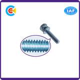 건물 철도를 위한 DIN/ANSI/BS/JIS Carbon-Steel 또는 Stainless-Steel 4.8/8.8/10.9 직류 전기를 통한 교차하는 각 조합 나사