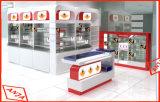 Visualizaciones al por mayor de los dispositivos del almacén del estante de la ropa del departamento