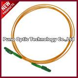 Fibra Óptica Lx. 5 Cordón de conexión con una vaina exterior de un solo color amarillo