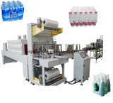 Миниые умеренные цены разливая линию по бутылкам минеральной вода заполняя