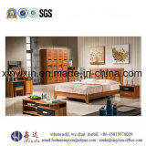 Size Bed Wooden Bedroom中国の工場王の家具(SH-014#)