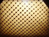 Engranzamento de fio decorativo da porta e do indicador