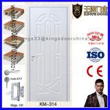 Porte en bois principale de modèle de double d'entrée