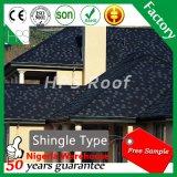Mattonelle di tetto poco costose del metallo del rivestimento della pietra del materiale da costruzione