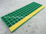 Reja moldeada FRP/GRP/reja de la fibra de vidrio/reja del plástico
