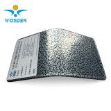 Rivestimento metallico della polvere di struttura d'argento resistente agli urti del martello per la base del metallo