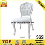 Cadeira de casamento branca de eventos de alumínio