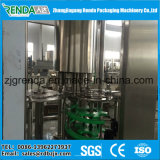 Máquina de engarrafamento da bebida do chá do suco do frasco de vidro