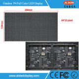 Haute résolution P4 Fixé Full Color Screen Outdoor LED TV