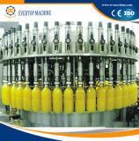 Ligne remplissante de production de jus de machine de remplissage de jus de bouteille de Pet/PE